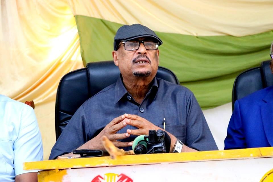 Hargeisa:-Gudoomiye Faysal Cali Waraabe Oo Ku Biiray Guddida Xalinta Shaqaaqada Ceel Afweyn , Warbaahinta-na La Hadley.
