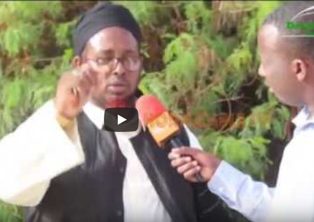 Burco:Daawo Sheekh Cabdixaq Rusheeye oo faahfaahiyey sababta ku kelliftay inu dumarka qabqabto, muuqaalo na ka duubo dadka xanuusanaya