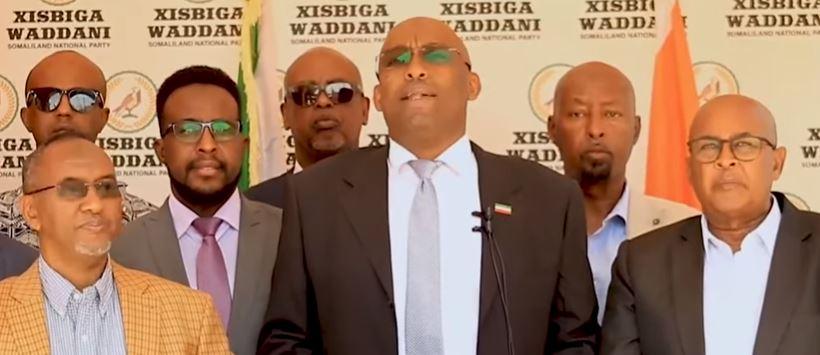 Daawo: Ex Wasiir Galaal oo shaaciyey inu ku biirey xisbiga Waddani, Madaxweynahana Dhaliilay