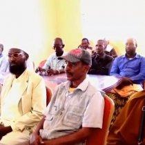 Badhan:Bulshada Ku Dhaqan Magaalada Badhan Oo Taagero Uu Muujiyey Wasiirka Cusub Ee Wasaarada Cadaalada Somalilad