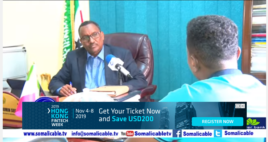Hargysa:Wasiirka wasaarada horumarinta Beeraha Somaliland Axmed Muumin Seed oo waraysi gaara siinayay Somali
