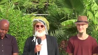 Hargeisa:-Saxafiyiin U Dhashay Dalka Austria Oo Dalka Soo Gaadhay Iyo U Jeedka Safarkooda.