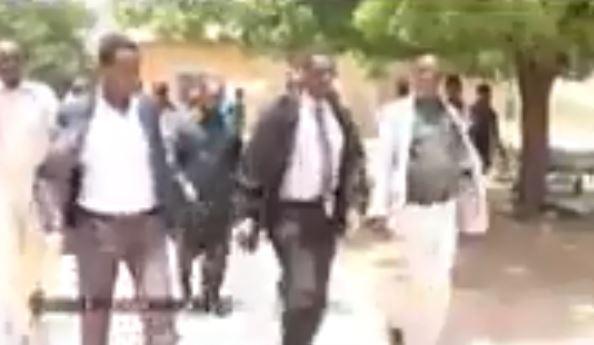 Burco: Daawo Wasiirro soo gaadhay Burco kormeero iyo kulamana la yeeshay madax dhaqameed iyo masuliyiinta cisbitalka burco