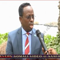 Jabouti:-Wasiirka Ganacsiga Somaliya Maxamed Xayir Maareeye Oo Ka Waramay Suuqa Xorta Ah Ee Laga Hiir Geliyey Dalka Jabuuti