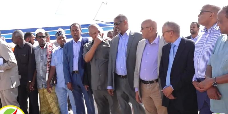 Gudaha:-Suldaan Maxamed Xirsi Qani Oo Xukumada Somaliland Hada Xalad Cafimaad Ugu Qaday Dalka Itobiya.