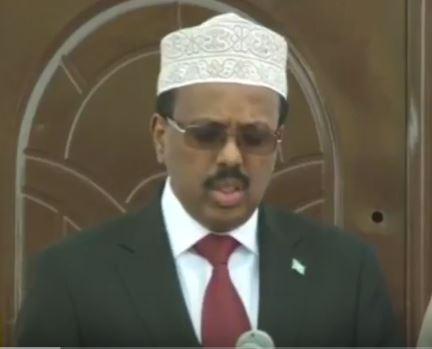 Somalia:-Madaxweynaha Soomaliya Iyo Raysal Wasaaraha Itoobiya Oo Siwada Jira Muqdisho Warbaahinta Ula Hadlay.