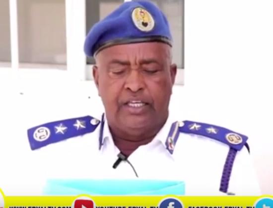 Hargeisa:-Taliska Ciidamadda Booliska Somaliland Oo Ka Hadalay Xadhiga Abwaan Cabdiraxman Abees.