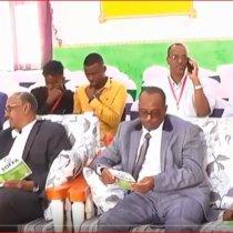 Berbera:-Wasiiro Ka Tirsan Xukuumada Somaliland Oo Magaalada Berbera Kaga Qayb Galay Shirka Ganacsatada Somaliland.