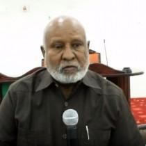 Hargaysa:-Gudomiyaha Golaha Guurtida Somaliland Saleeban Maxamuud Aadan Oo Xildhibaanada Golaha Guurtida Ku Amray Inay Bulshada La Tukadaan Salaada Roob Donta Ah