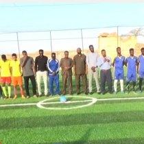 Gudaha:-Wasiirka Ciyaaraha Somaliland Oo Xadhiga Ka Jaray Garoon Cusub Oo Laga Hir Geliyey Magaalada Hargeisa