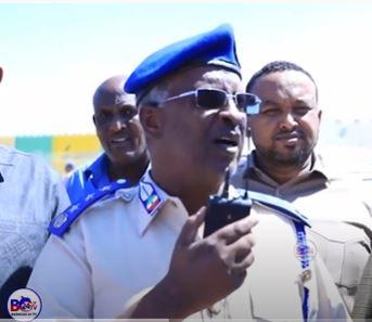 Taliyaha Booliska Somaliland Oo Ka Hadlay Arrintii Shalay Ka Dhacday Garoonka Hargeysa Stadium.