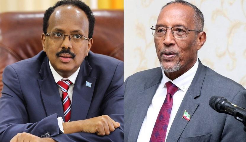 Dubai:Wufuud Ay Kala Hogaaminyaan Madaxweynayaasha Somaliland Iyo Somalia Oo Ku Sugan Khaliijka Carabta