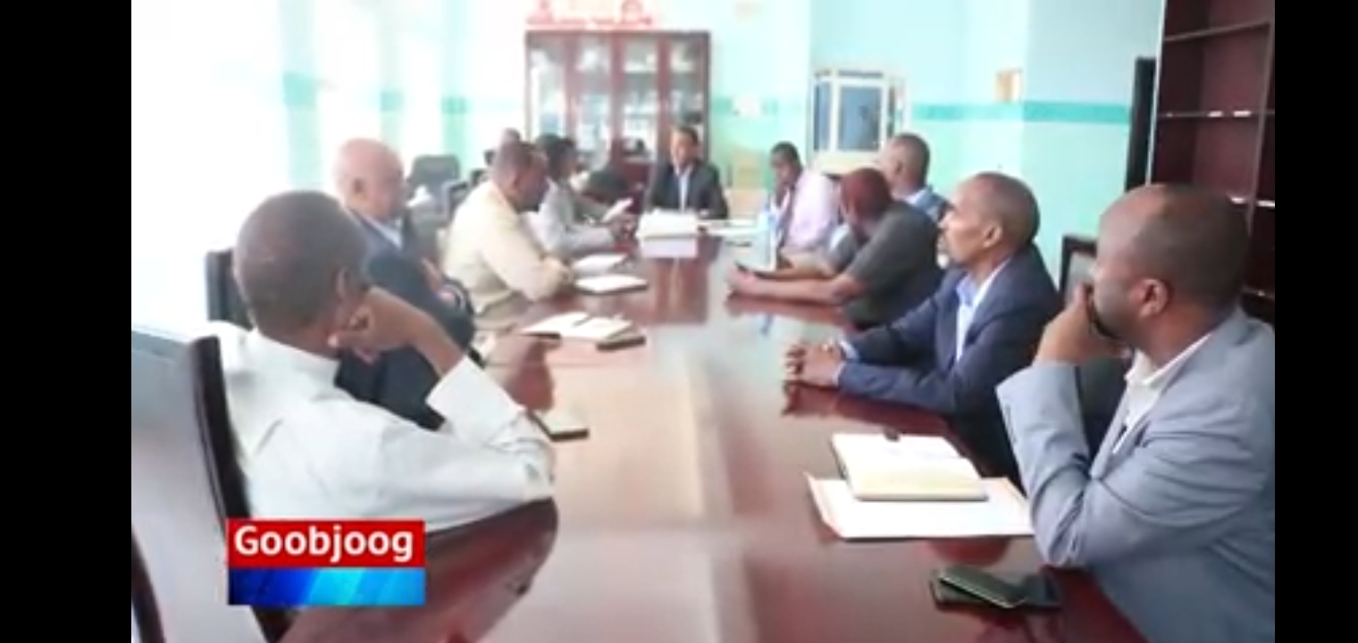 Shirkadda Leerka ee Telesom oo Cabasho Ka Muujisay Wasiirka Macdanta Iyo Tamarta Somaliland.