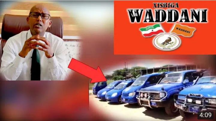 Gudaha:-Xisbiga Waddani Muxu Ka yidhii Gadiidka Booliska Somaliland Ay Astaantooda Ku Xardheen?