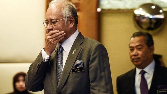 Malaysi:-Najib Razaq oo laga mamnuucay in uu ka baxo Malaysia+Sababta Ka Danbaysa.