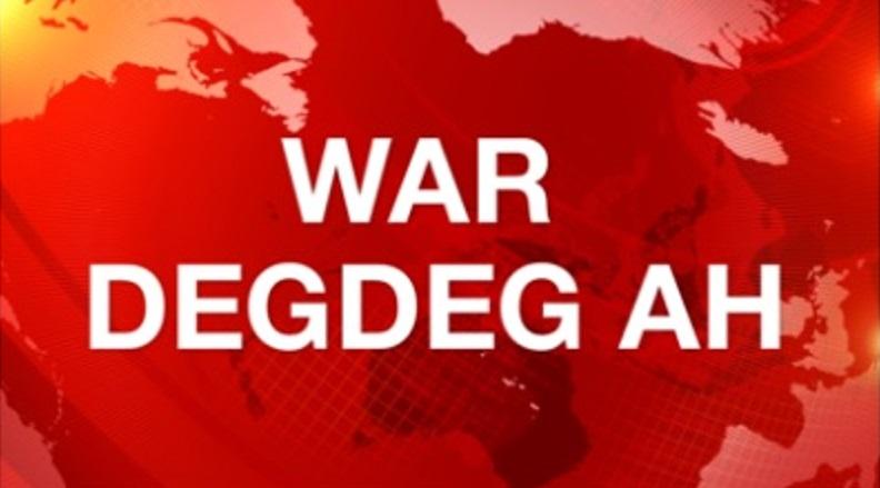 War Deg Deg:-QARAX KA DHACAY MAGAALADA BOOSASO