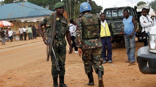 Congo:Hoggaanka Ciidamada Nabad Ilaalinta Qaramada Midoobay Ee Congo Oo La Dhalilay
