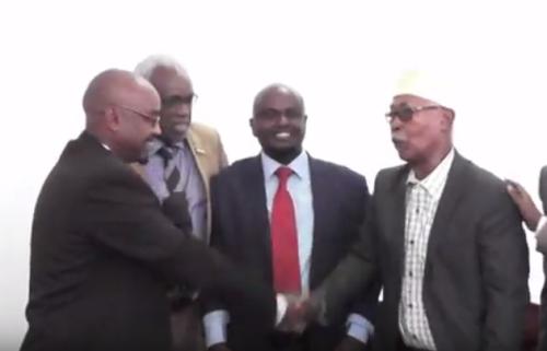 Daawo;Wasiirka Cusub Ee Wasaarada Boosaha Iuo Isgaadhsiinta Somaliland Oo Xilkii La Wareegay.