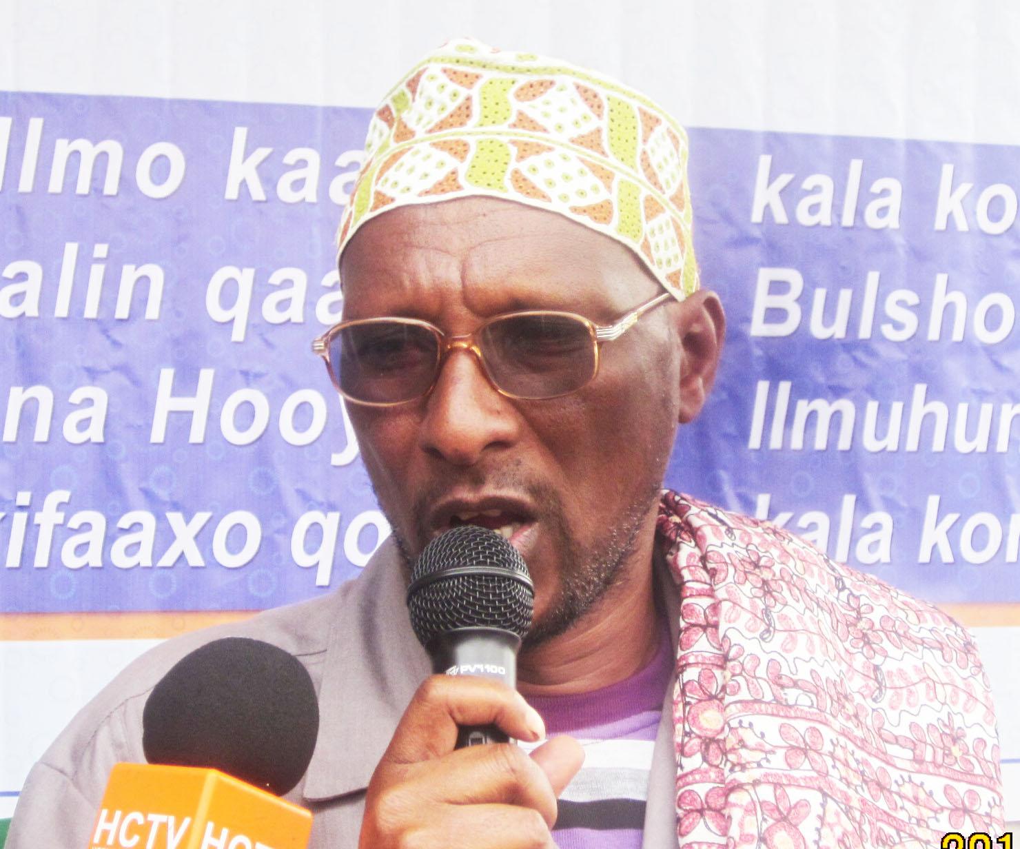 CAAQIL FAARAX XUSEEN  GAABUUSH  Oo madaxwaynaha jamhuuriyada Somaliland fariin culus u diray