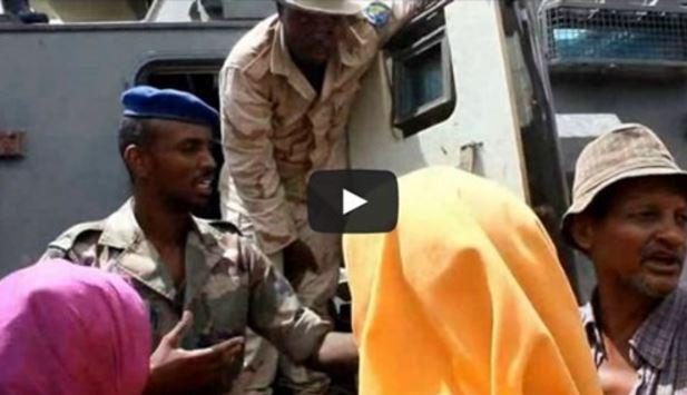 Daawo Muqaal:Cidamada Jabuuti Oo Ku Sugan Konfurta Somaliya Oo Gurmad U Fidanaya Dad Barakacayaal Ah.