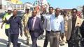 Hargeisa:- Wasiirka Maaliyada Somaliland Oo Kormeeyay Xafiiska Wasarada Maaliyada Iyo Kaydka Hamaaha Shidaalka Magaalada Berbera.