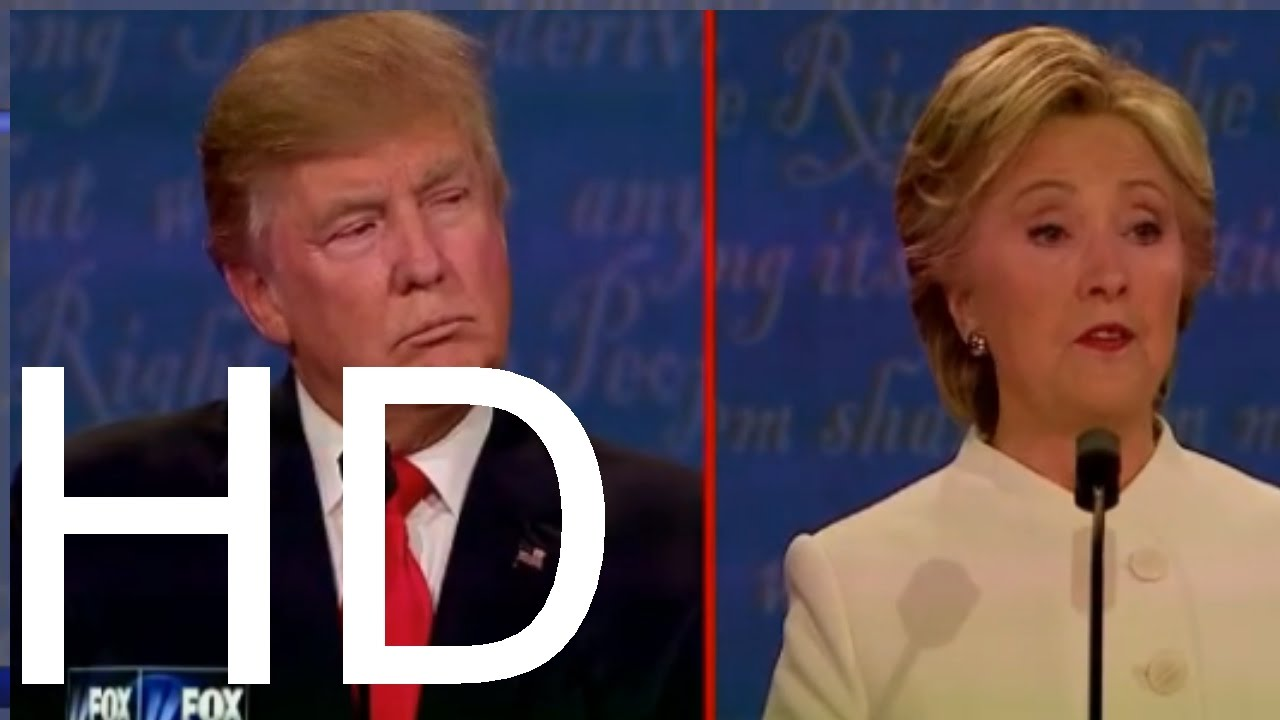 Daawo: Doodii 3aad Uguna Danbaysay Ee Hillary Clinton Iyo Donald Trump