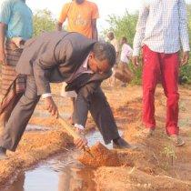 Hargeisa:- Wasiirka Horumarint Beeraha Somaliland Oo Kormeer Ku Maraaya Gobolada Bariga Somaliland.