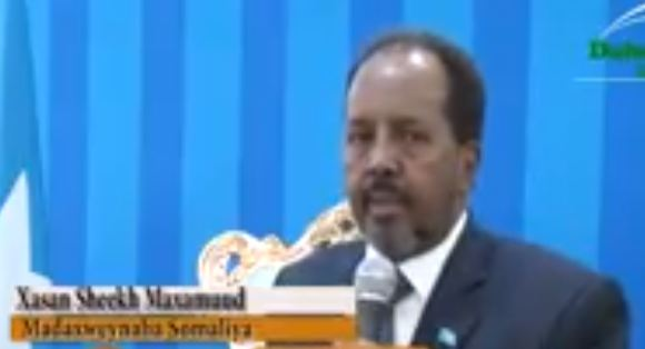 Daawo:Madaxweynaha Somaliya Oo Baaq Ka Soo Saraay Abaaraha Dalka Somaliya