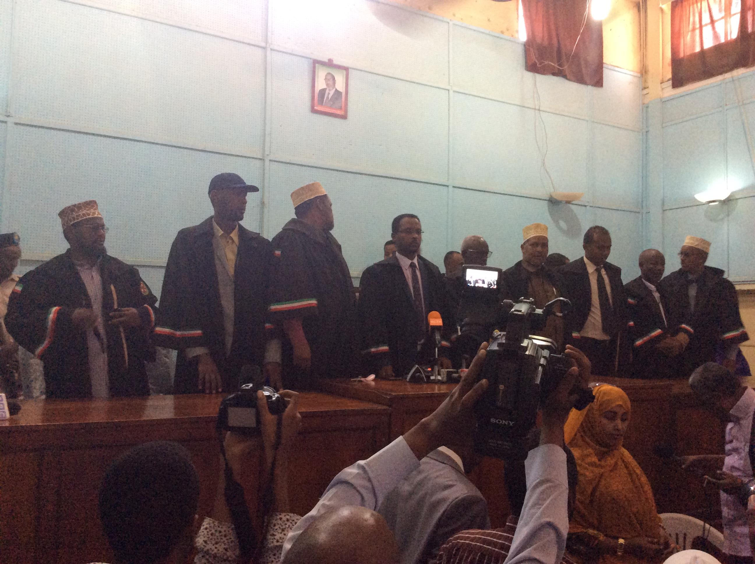 War Deg Deg:Daawo Maxkamada Dastuuriga Ah Ee Somaliland Oo Go'aamo Ka Soo Saartay Dacwadii Xisbiga UCID