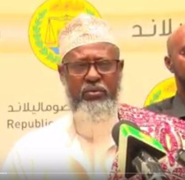 Daawo;Wasiirka Diinta Iyo Awqaafta Somaliland sh.Khaliil Oo Markale Shaaciyay In Salaada Roob Donta Dalka Laga Ogi Dono.
