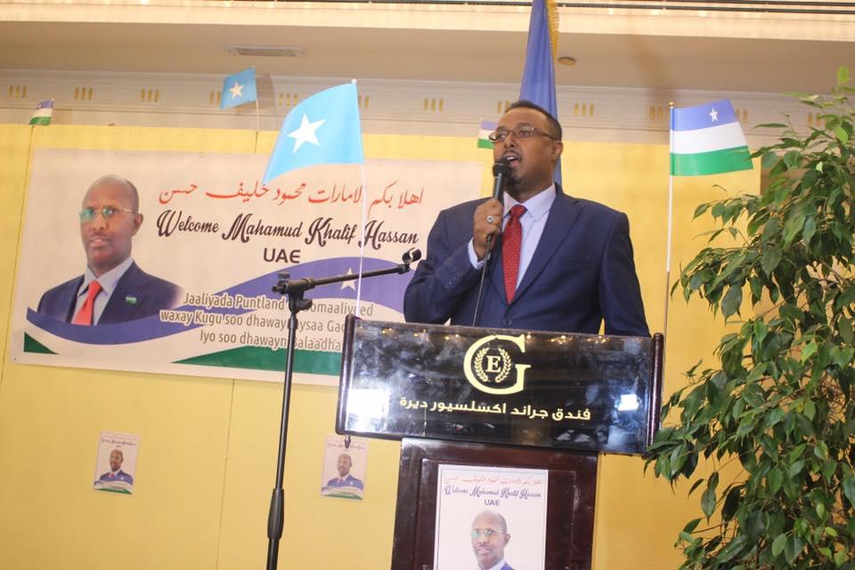 Daawo:- Anigu Maruun Baan Umada Somaliyeed Hogaaminayaa Ambsedor Axmed Maladiin