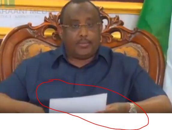 War Deg Deg Ah Madaxweynaha Maamulka Putland Oo Hada Warbaahinta La Hadlay Iyo Arimaha Uu Kala Hadlay+ Maxaa Uu ka Yidhi Somaliland.
