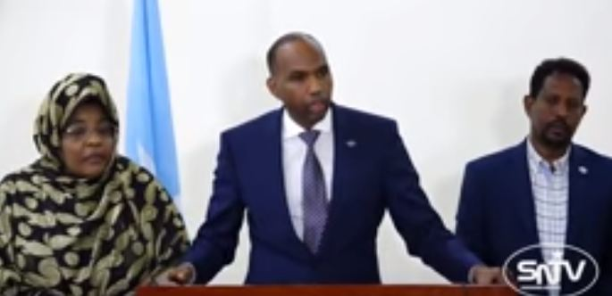 """Muqdisho:- Raysal Wasaaraha Somaliya Oo Si Cadho Leh Uga Hadley Heshiis Ay Somaliland Gashay """" Sharciga Ayaanu La Tiigsan Doonaa Dp World."""