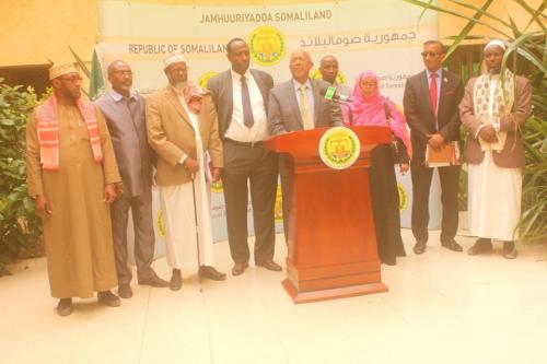 Madaxweyne Ku-xigeenka Somaliland Oo Kulan La Yeeshay Guddiga Abaaraha Iyo Hay'addaha Caalamiga ah.
