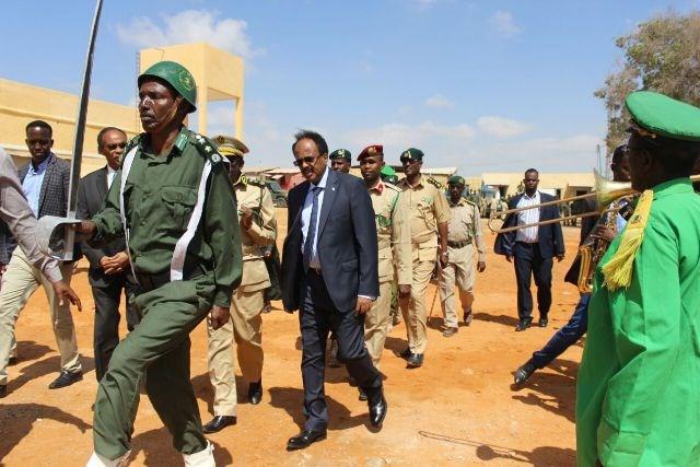 Madaxwaynaha Somaliya Farmaajo Oo Boqday Xabsiga Magalada Muqdisho.