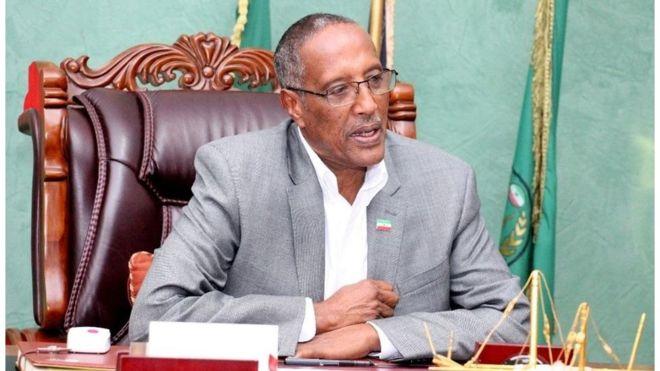Madaxweynaha Somaliland oo safarkiisii ugu horreeyay ugu duulay Djibouti