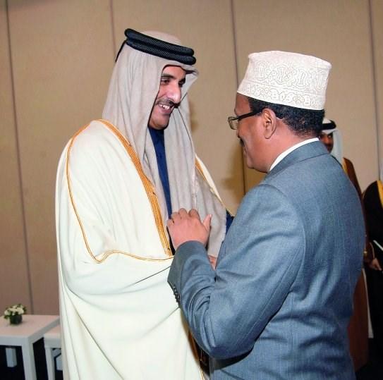 Kulan Xasaasiya Oo Dhex Maray Madaxweynaha Somalia Iyo Amiirka Qatar + Arimaha Laga Wada Hadlay.
