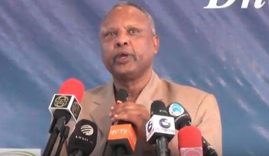 Daawo:Wasiir Cukuse Oo Ka Sheekeeyey Taariikhda Maalinta Ufo Iyo Doorkii Uu Ku Lahaa Dhalinyarad Somaliland.