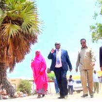 Daawo:Waftii Uu Hogaaminayo Wasiirka Qorsheynta Qaranka iyo Horumarinta Caalamiga Ee Somaliland Oo Gaadhay Magaalada Berbera iyo Mashaariico Tiro Badan Oo Uu Kormeeray.