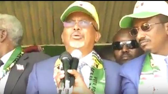 Daawo: Khudbadi Madaxweyne Kuxigeenka Somaliland Md Saylaci ka Jeediyay Magaalada Boorame Iyado Tageerayaashi Ugu Badna ee Xisbiga KULMIYE Iskugu Soo Baxeen