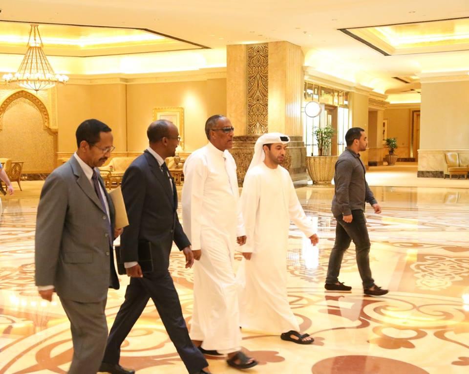 Dubai:- Madaxweynaha Somaliland Oo Hadhimo Sharafeed U Sameeyey Weftigii Shalay Ka Dhoofay Dalka Ee Ka Koobna Wasiirka, Gudoomiyaha Baanka Iyo Taliyeyaasha Ciidan Somaliland Oo Gaadhay Imaaraadka Carabta.