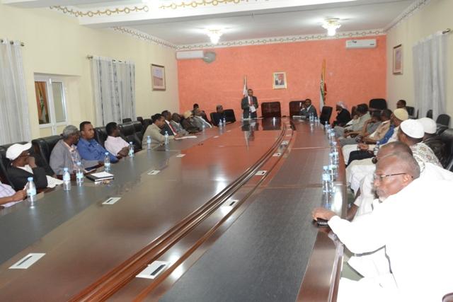 Madaxweynaha Somaliland Oo Isugu Yeedhay Ganacsatada Xoolaha Dhoofisa+Sawiro
