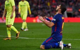 Barcelona Oo Markii Ugu Horeysay Muddo 15-Bilood Ah Ku Fashilantay Iney Gurigeeda Gool Ku Dhaliso Kulamada Horyaalka La Liga.