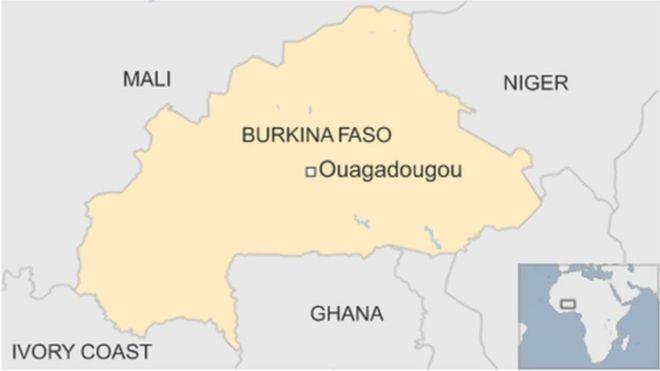 17 qof oo ku dhintay weerar ka dhacay Burkina Faso