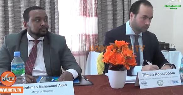 Berbera: Daawo Ururka Dawladaha hoose ee Somaliland iyo Ururka Dawladaha Hoose ee Holland