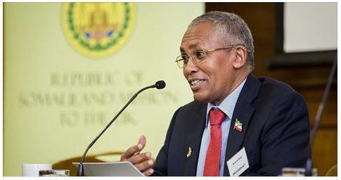 Hargaysa:-Wasiirka Arimaha Dibada Oo Ka Hadlay In Somaliland Xidhiidhka U Jarayso Hay'addaha Qaramada Midoobay