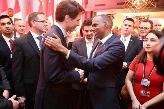 Ra'iisal wasaare Kheyre oo la kulmay dhiggiisa dalka Canada Justin Trudeau