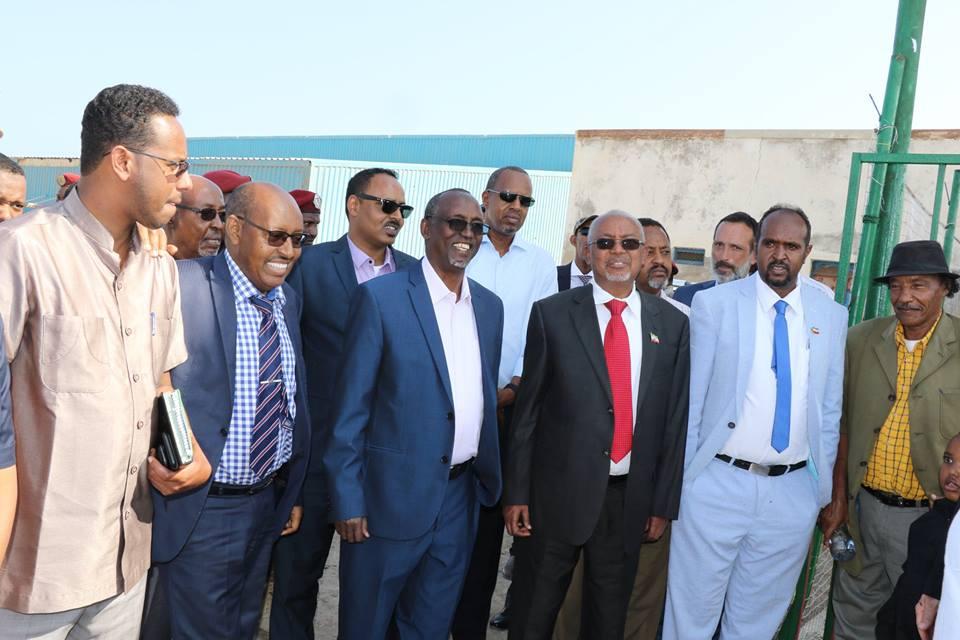Xukuumadda Somaliland oo Hay'adda Cuntada iyo Beeraha ee FAO Kala Wareegtay Doonyo Kalluumaysi Oo Lagu Sameeyay Jaamacadda Faraca Badda Ee Berbera