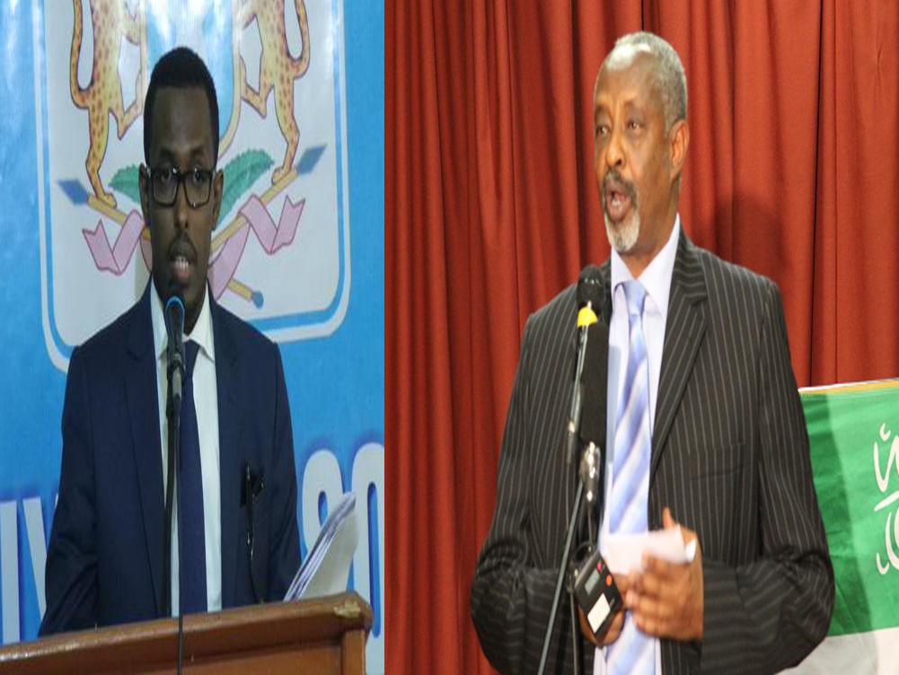 Wasiirka Arimaha Gudaha Somaliland Oo Ku Sii jeeda Gobolada Bariga Somaliland Iyo Wasiiro Ka Tirsan Somalia Oo Ku Sugan Gobolka Sanaag + Dareenada Ku Xeeran.