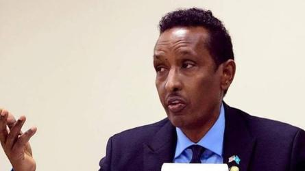 Muqdisho:- Wasiirka arrimaha dibadda Somaliya oo digniin u diray Dowladda Imaaraadka Carabta.